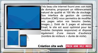 Visuel Création Site Web