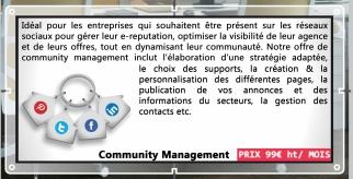 Visuel community management immo